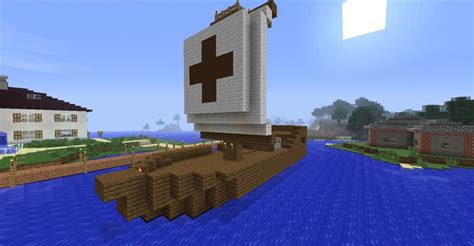 Bauideen Holz by ᐅ Segelschiff Aus Holz In Minecraft Bauen Minecraft