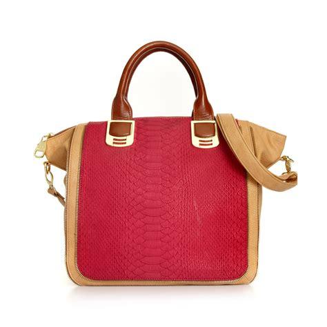 steve madden steve madden handbag tote in pink fuschia lyst