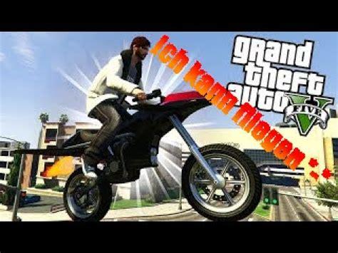 Motorrad Online Youtube by Fliegendes Motorrad Gta 5 Online Deutsch Hd Youtube