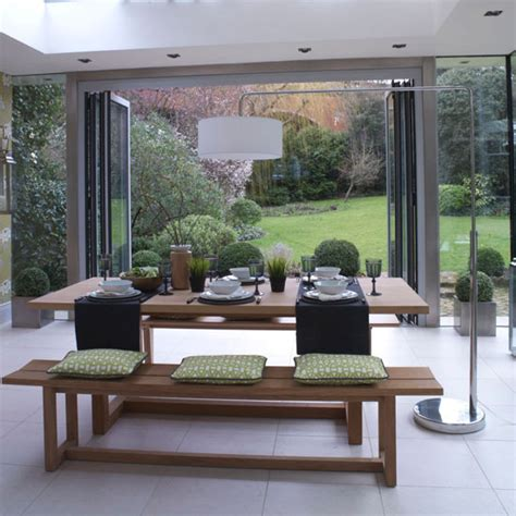 garden room dining area modern dining room ideas ideal