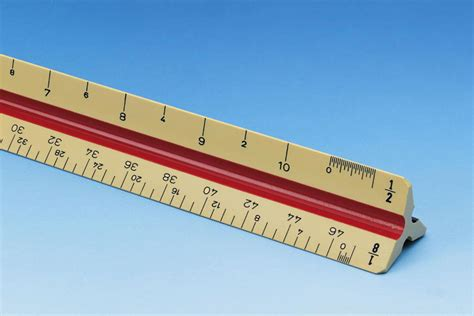 Alvin 240b Bamboo Architects Scale by Alvin 270p Architects Scale Architects Ruler Boxwood