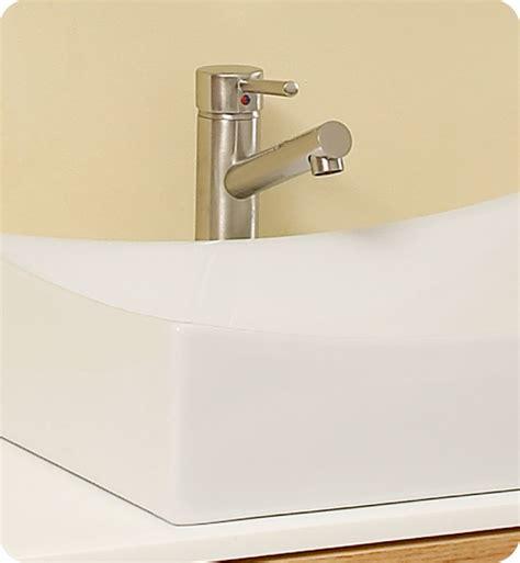 bathroom fauset distante 43 inch natural wood bathroom vanity single