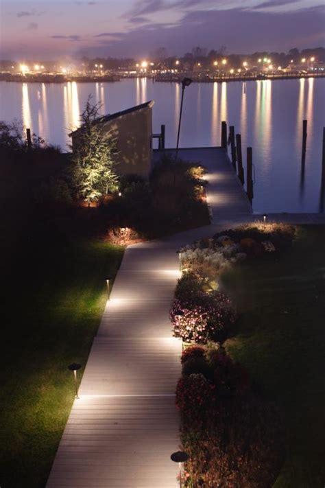 Landscape Wall Lighting Outdoor Lighting Gallery Continental Landscaping Inc