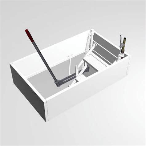 top opening mechanism for loft hatch premier loft ladders