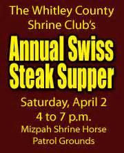 the saturday supper club books talk of the town whitley county whitley county shrine