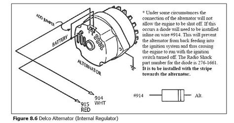 1989 Chevy 350 Alternator Wiring Diagram Periodic