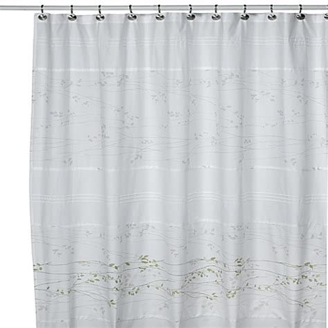 kas curtains lantana fabric shower curtain by kas bed bath beyond