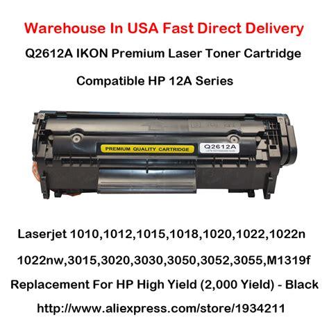 Seal Segel Toner Cartridge Hp 1010 1020 1015 3015 12a Q2612a laserjet 3055 koop goedkope laserjet 3055 loten