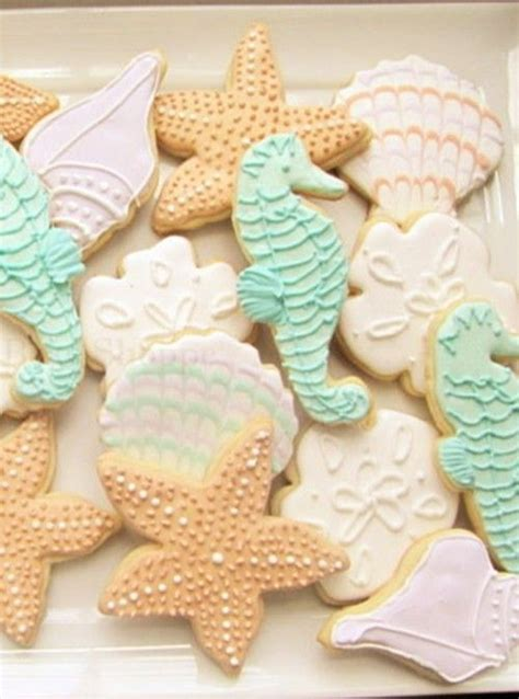 Destination Wedding   Beach Themed Cookies #2040859   Weddbook