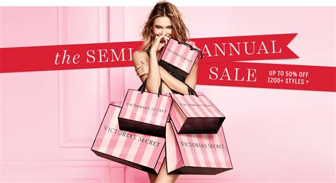 for secret victorias secret up to 50 semi annual sale