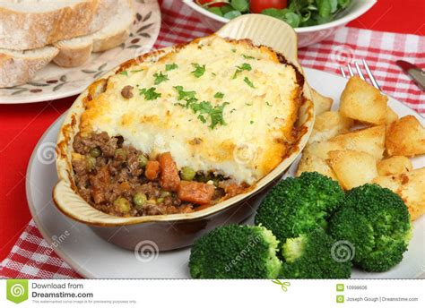 Individual Cottage Pie by Individual Shepherds Pie Royalty Free Stock Image Image
