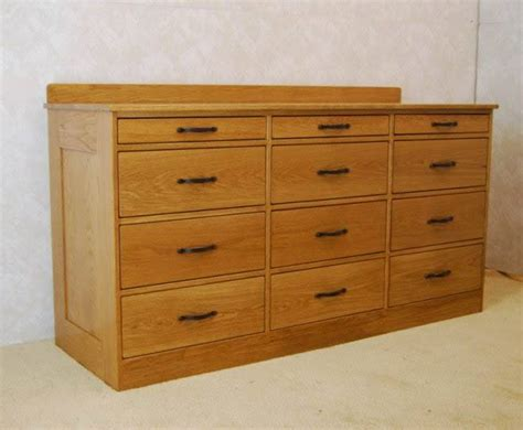 12 Drawer Chest of Drawers   De Vries Woodcrafters
