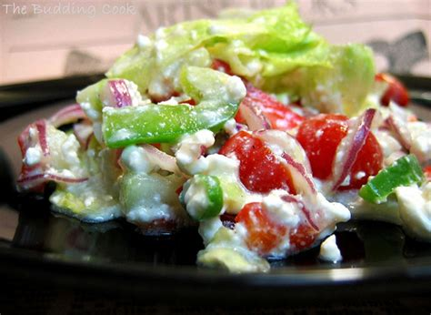 Salad Cottage Cheese by Cottage Cheese Salad Recipedose And Easy Cooking