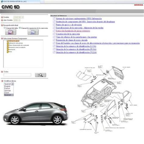 car repair manuals online pdf 2010 honda civic engine control manual del taller honda civic 2006 2010 5 puertas descargar t eac