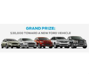 Win A Car Sweepstakes Phone Call - win 30 000 towards a new ford car free sweepstakes contests giveaways