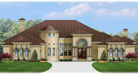 one story dream homes italianate house plan with 6248 square feet and 4 bedrooms