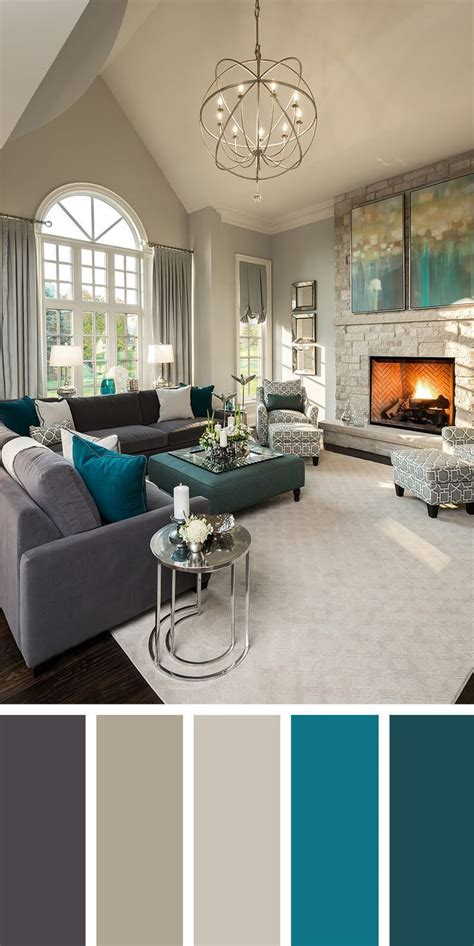 Color Palette For Home Interiors Best 25 Living Room Color Schemes Ideas On