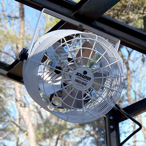 in wall fans for circulation 8 inch air circulation fans for greenhouses and solariums