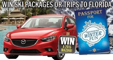 daily news passport to winter fun 2014 sweepstakes sweepstakesbible - Daily News Sweepstakes