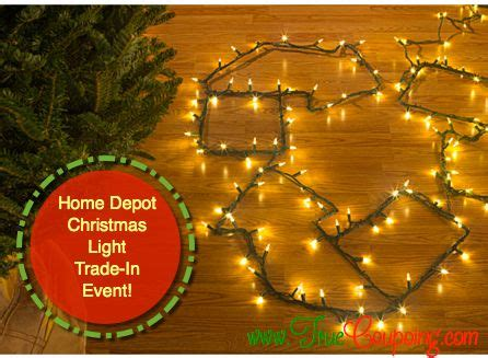 home depot christmas light trade in 3 5 off led
