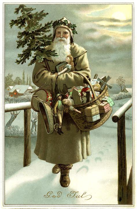 beautiful swedish santa image god jul  graphics fairy