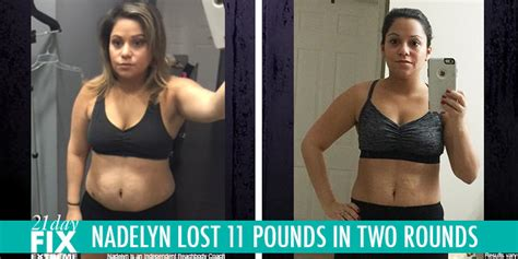 Results Transformation 21 Day Detox by 21 Day Fix Results Nadelyn Lost 11 Pounds The