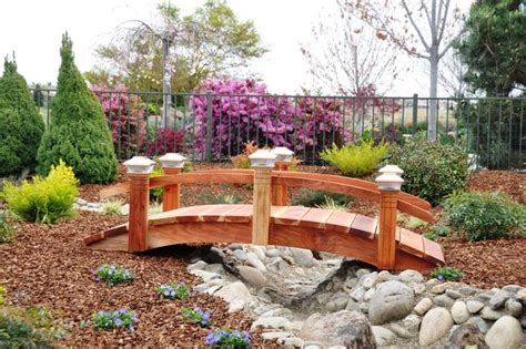 landscaping bridge garden bridge contemporary landscape new york by