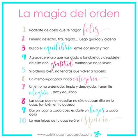 la magia del orden 8403503814 la magia del orden 10 ideas para ordenar tu casa y tu vida magia mejores y libros