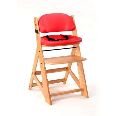 Keekaroo High Chair by Keekaroo Height Right High Chair Cherry Comfort Cushion