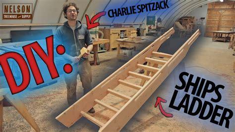Wood Ships Ladder Plans
