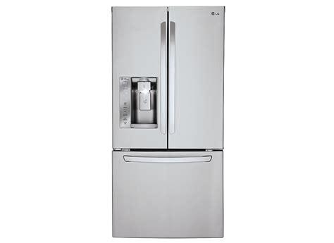 consumer reports refrigerators door lg lfxs24623s refrigerator consumer reports