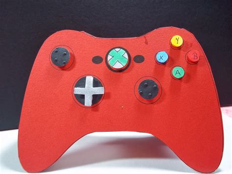controller card template crafty creations by niki xbox 360 gane controller
