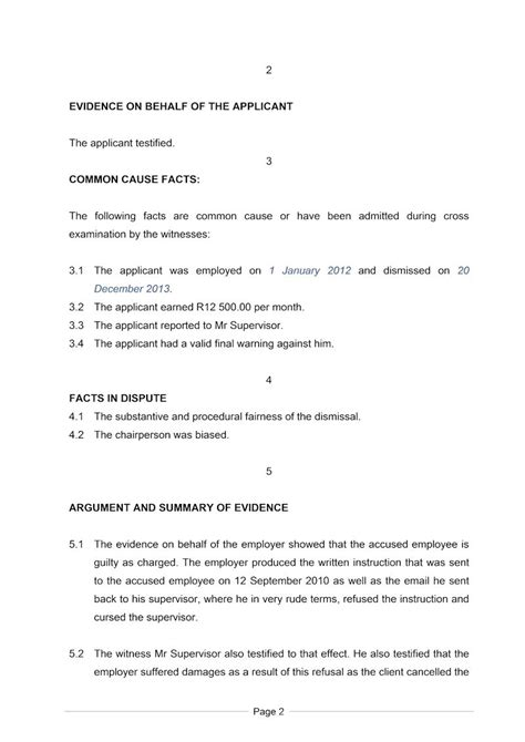 Business Closing Letter Employees South Africa Exle Of A Closing Statement Document Labour