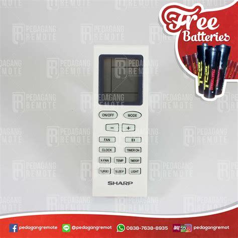 Remote Remot Remote Ac Sharp Yb1fa Ori Original jual remot remote ac sharp original yb1fa pedagang remot
