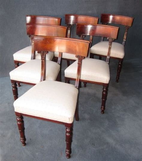 William Iv Dining Chairs A Set Of 6 William Iv Dining Chairs 138731 Sellingantiques Co Uk