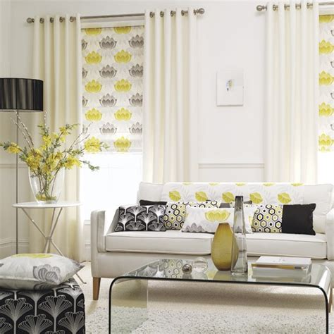 yellow gray and white living room accent yellows 5 ways with yelows and oranges