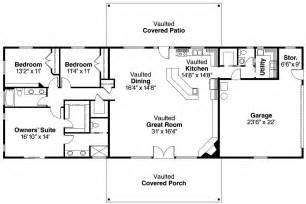 open ranch style floor plans ranch house plans ottawa 30 601 associated designs