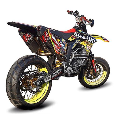 Suzuki 250 Supermoto Suzuki Rmz450 Supermoto Supermotard On Instagram