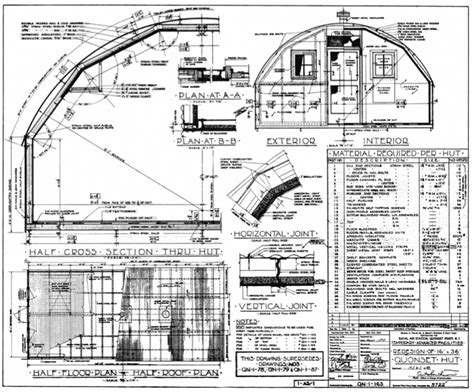 Quonset House Plans Quonset Hut Blueprints Studio Design Gallery Best Design