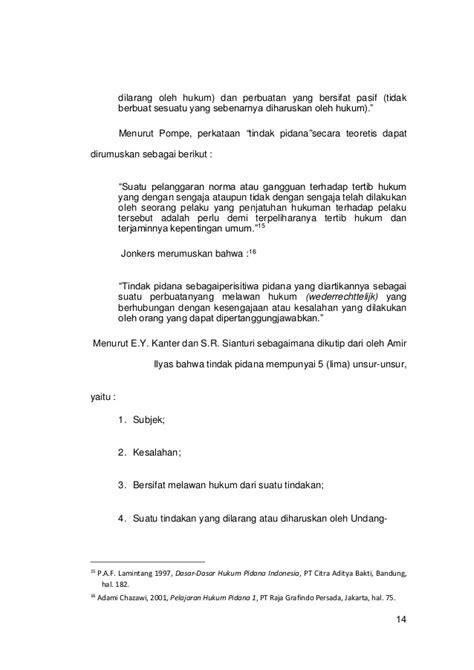 Dasar Dasar Hukum Pidana Drs Lamintang skripsi lengkap hukum tindak pidana penipuan