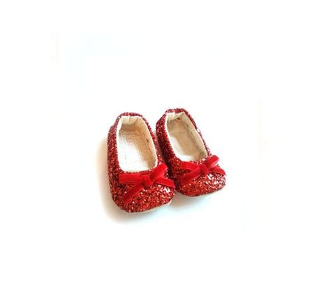 baby ruby slippers ruby slippers glitter sparkle bow baby toddler s