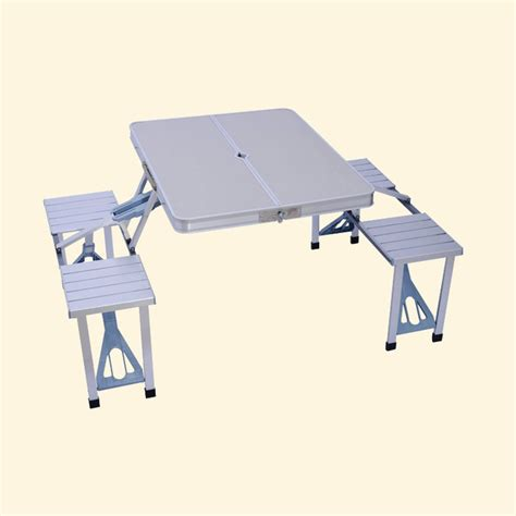 aluminium folding table and chair set outdoor aluminum folding tables and chairs set