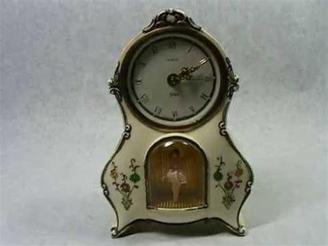 vintage german rensie ballerina  clock youtube