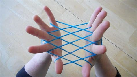 Step By Step String - hammock fishnet string figure step by step tutorial