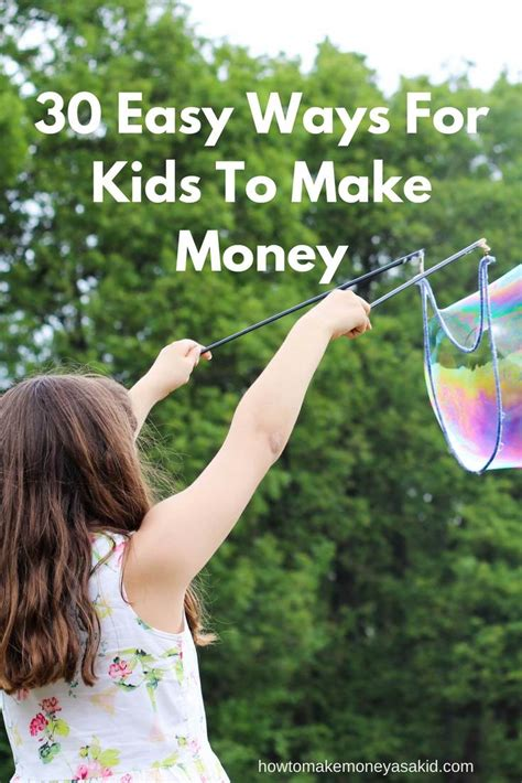 Fast Ways To Make Money Online For Teenagers - 30 easy ways for kids to make money howtomakemoneyasakid com