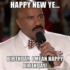 Steve harvey miss meme happy birthday meme