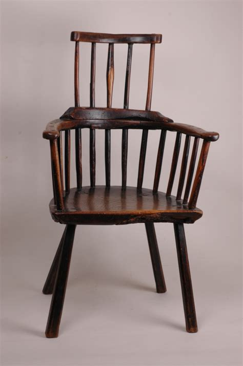 comb back chair antique antique primitive comb back chair