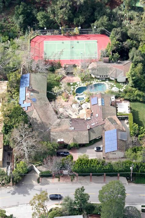 jim carrey house brentwood home