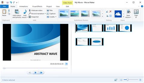 audio and video windows movie maker cover 2