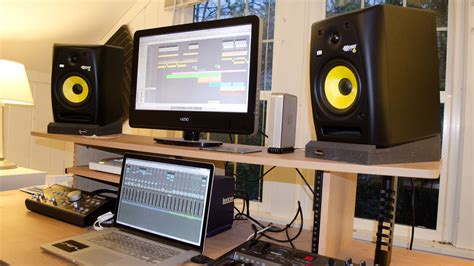 bedroom studio desk in the moment making tracks with alex sacco the